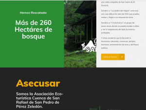 website Eco-turística