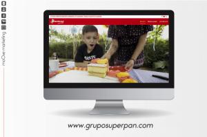 Página Web de Super Pan