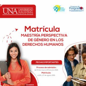 Campaña promocional de postgrados