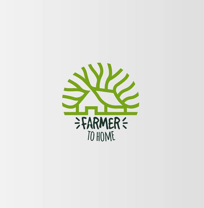 Diseño de logotipo Farmer To home