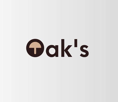 Diseño de logotipo Oaks Hongos Shitakke