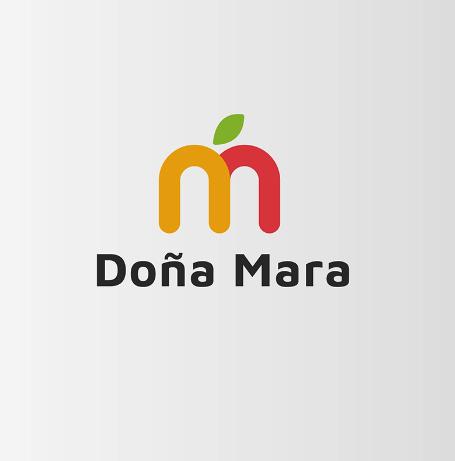 Diseño de logotipo Productos Doña Mara