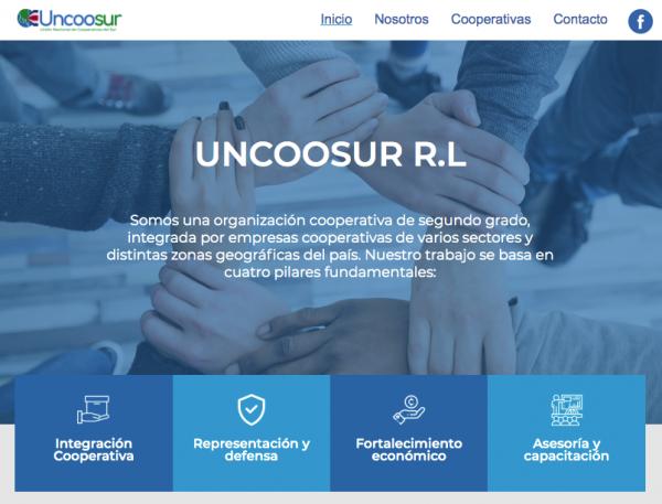 Uncoosur lanza sitio web con dominio cooperativo (.coop)